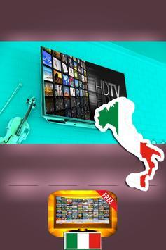 Guide pour info TV sat Chaînes Italienne screenshot 1