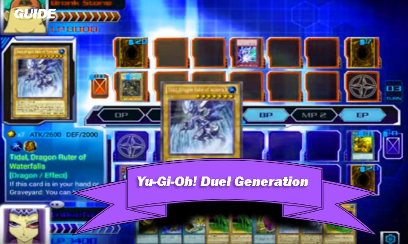 yu gi oh duel generation guide