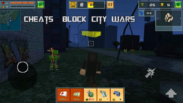 Cheats For Block City Wars New screenshot 11