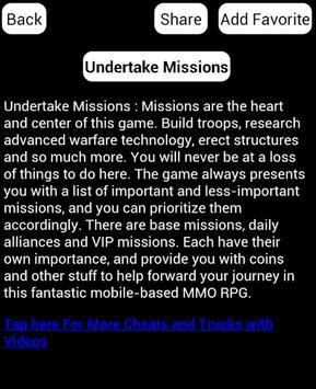 Guide For Mobile Strike screenshot 1
