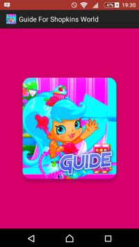 Guide For Shopkins World poster