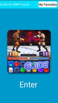 Best Guide WWE Champion Puzzle poster