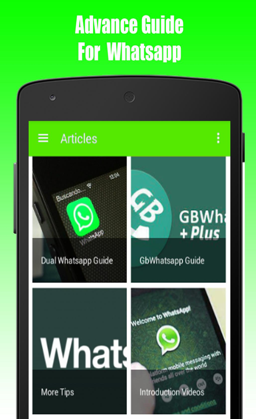 Free Dual GbWhatsapp Guide for Android - APK Download