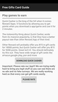 Free Gift Cards apk screenshot