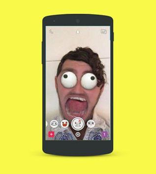 Guides lenses on snapchat apk screenshot