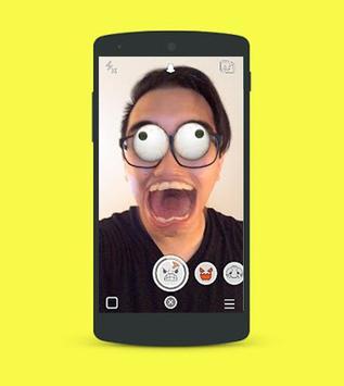 Guides lenses on snapchat poster