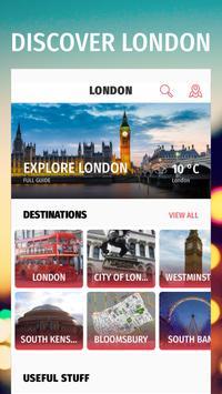✈ London Travel Guide Offline poster