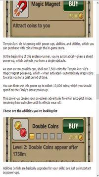 Guide for Temple Run OZ apk screenshot
