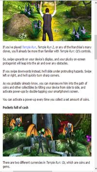 Guide for Temple Run OZ poster