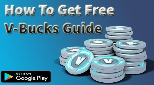 How To Get Free V-Bucks On Fortnite Guide poster