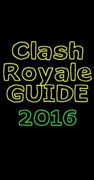 Guide Clash Royale 2016 poster
