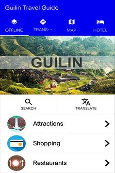 Guilin Travel Guide poster
