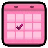 Menstrual Calendar icon