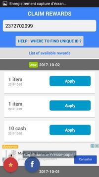Free coins - Pool Instant Rewards screenshot 1
