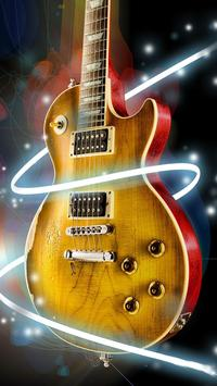 Guitar Live Wallpaper poster