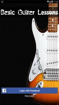 Basic Guitar Lessons poster