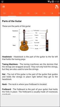 Basic Guitar Lessons apk screenshot