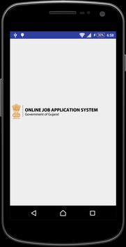 OJAS | maru gujarat government job portal poster