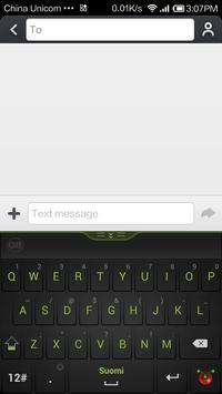 Guobi Finnish Keyboard screenshot 1