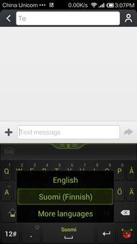 Guobi Finnish Keyboard screenshot 2