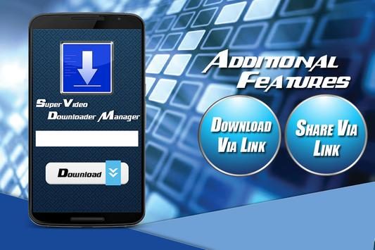 Super Video Downloader Manager screenshot 2