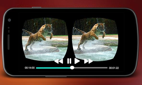 VR Player 3D Simulator apk screenshot