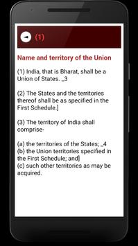 Indian Constitution screenshot 3