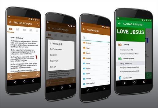 ALKITAB & Kidung apk screenshot