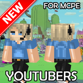 Skins of YouTubers for MCPE icon