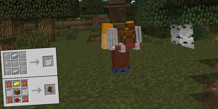 Backpacks for Minecraft PE poster