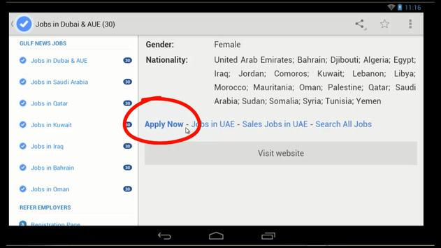 Gulf News Jobs for Android - APK Download