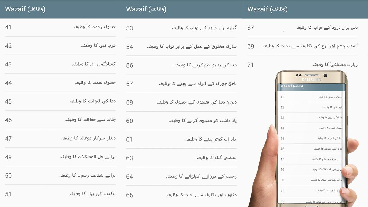 Darood Sharif (درود شریف) with Urdu Translation for Android