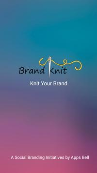 Brand Knit poster