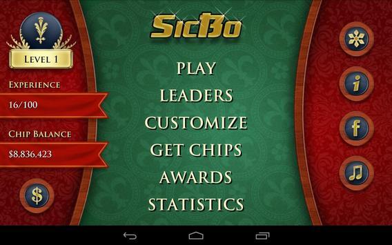Casino Dice Game: SicBo poster