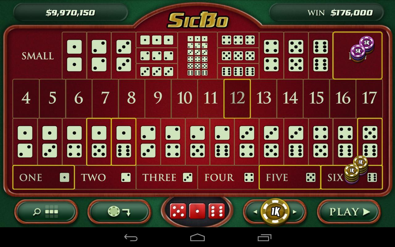 Casino Dice Game: SicBo for Android - APK Download