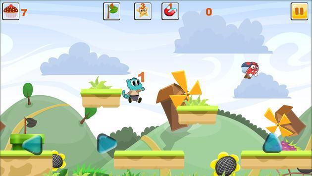 Blue Candy Gumball Adventure screenshot 3