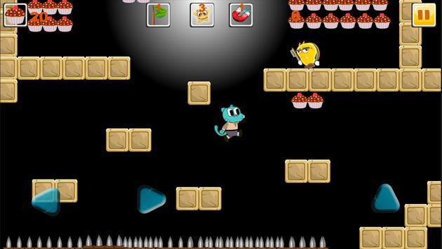 Blue Candy Gumball Adventure screenshot 2