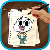 Drawing Book Gumball 2017 icon
