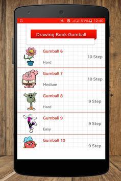 Drawing Book Gumball 2017 apk screenshot