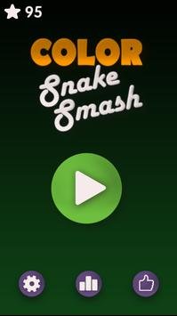 Color Snake Smash poster