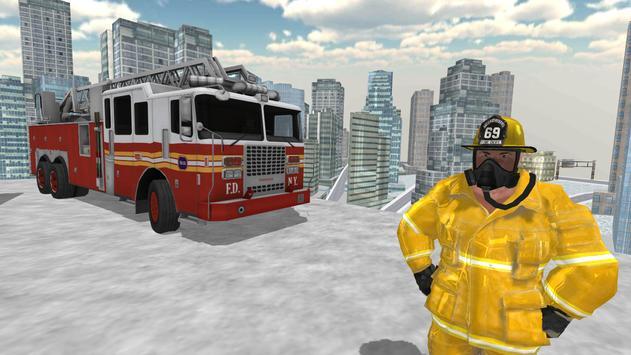 Fire Truck Driving Simulator screenshot 10