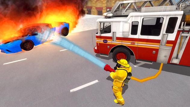 Fire Truck Driving Simulator screenshot 18