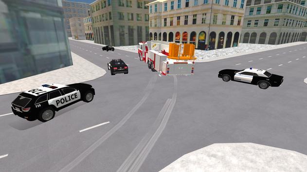 Fire Truck Driving Simulator screenshot 1