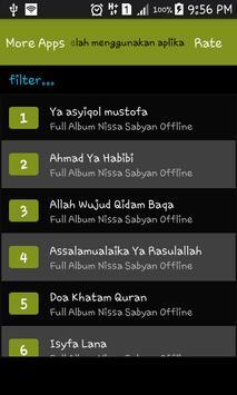 Full Album Nissa Sabyan Offline screenshot 1
