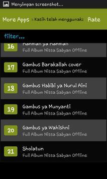 Full Album Nissa Sabyan Offline screenshot 5