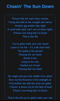 Chris Lane music lyrics screenshot 4
