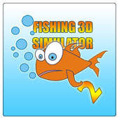 Fishing 3D Simulator. River icon