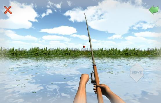 Fishing 3D Simulator. River poster