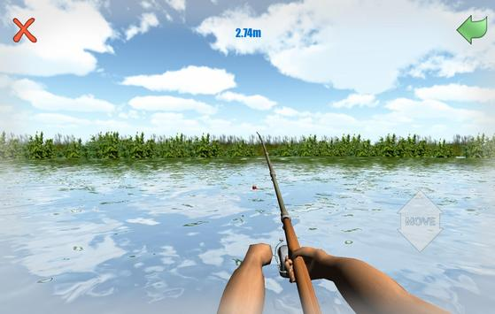 Fishing 3D Simulator. River apk screenshot