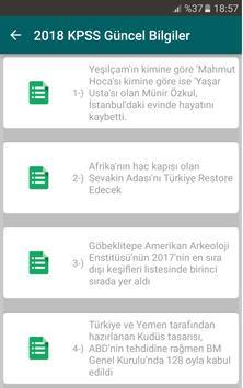 2019 KPSS Güncel Bilgiler screenshot 1